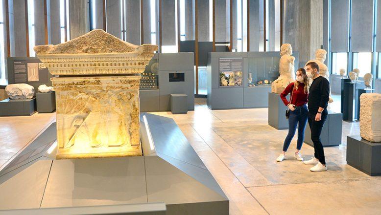 Troya Müzesi'ne, pandemi de 1 milyon sanal ziyaret