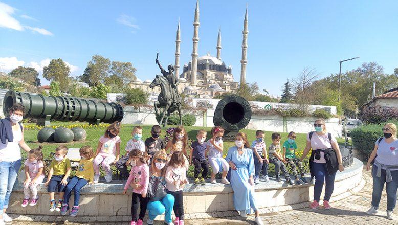 Bulgar öğrenciler Edirne'yi keşfetti