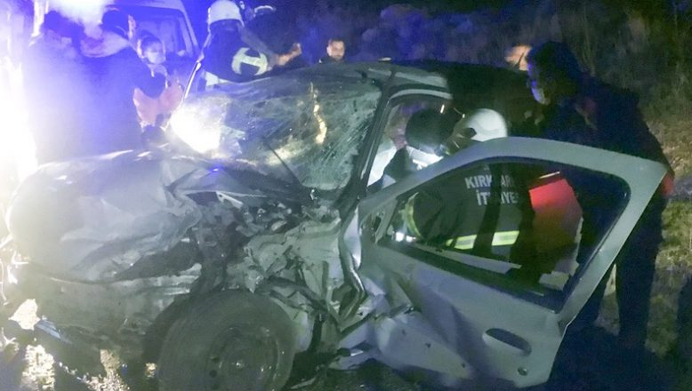 Feci kazada 6 yaralı