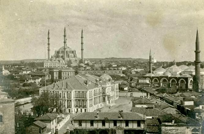 Öğrencilerden Edirne'nin kurtuluşu