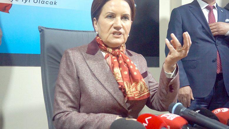 Akşener, Edirne programını iptal etti