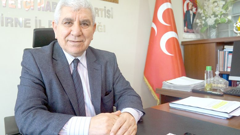 Tercan'dan Türkeş tepkisi