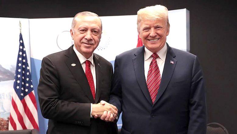 Cumhurbaşkanı Erdoğan'dan, Trump'a mesaj