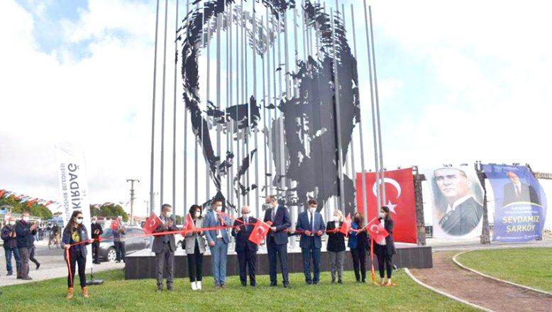 Atatürk Silüeti'nin açılışı yapıldı
