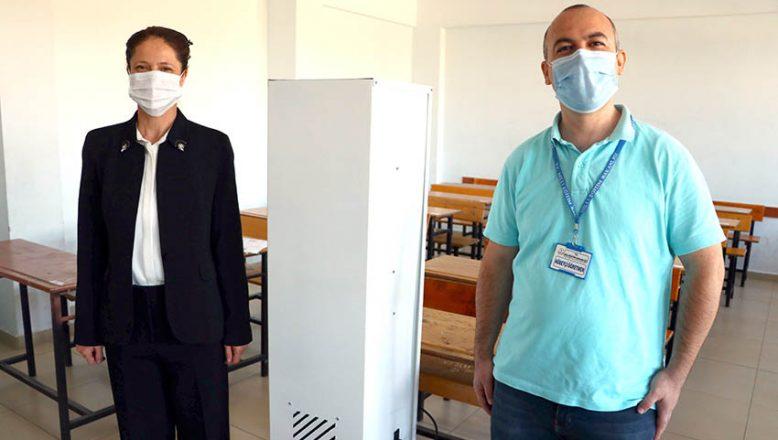 'Hava Sterilizasyonu' ürettiler
