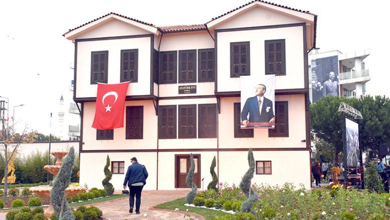 Atatürk Evi törenle açıldı