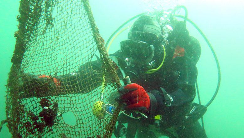 Çanakkale Boğazı, hayalet ağlardan kurtarıldı