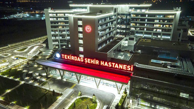 """Tekirdağ Şehir Hastanesi'ne, """"Turkcell'den uçtan uca dijital altyapı"""""""