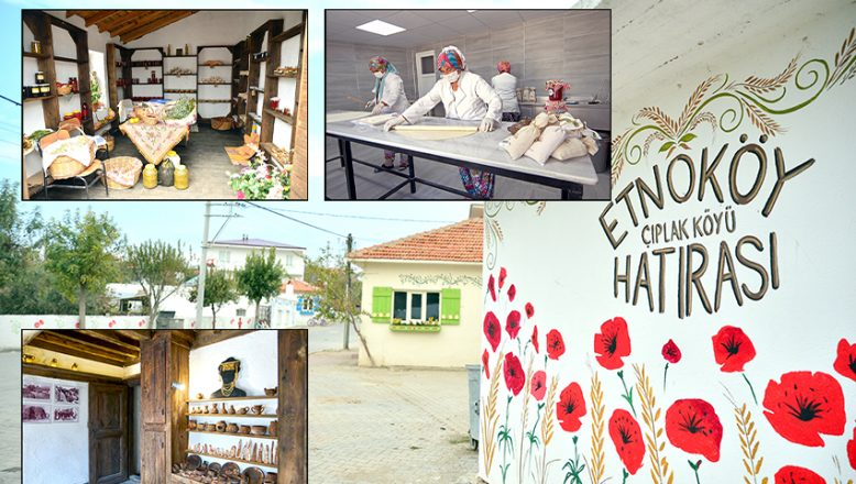 Çıplak köydü, 'Etno-Köy' oldu