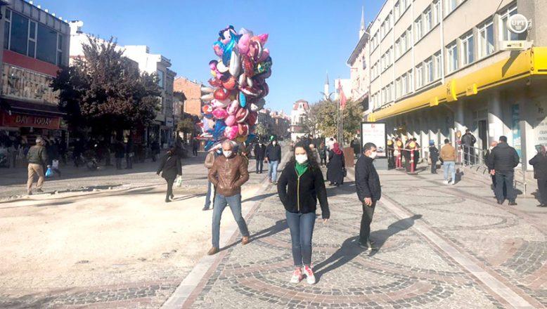Edirne'deki işlek caddelere sınırlama
