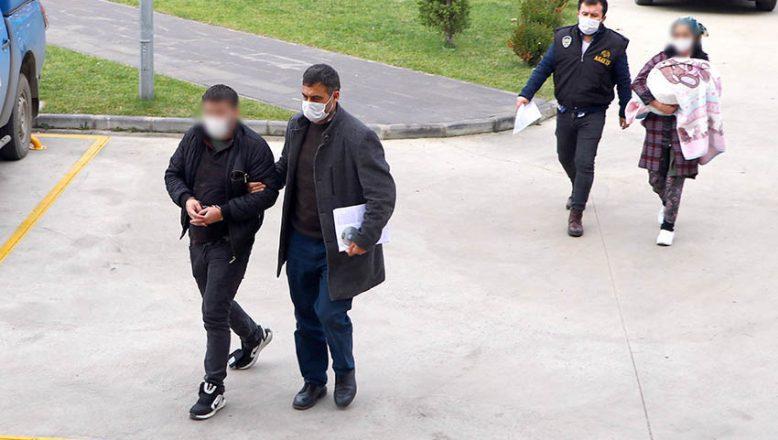 Polise çarpan yankesicilik şüphelileri yakalandı