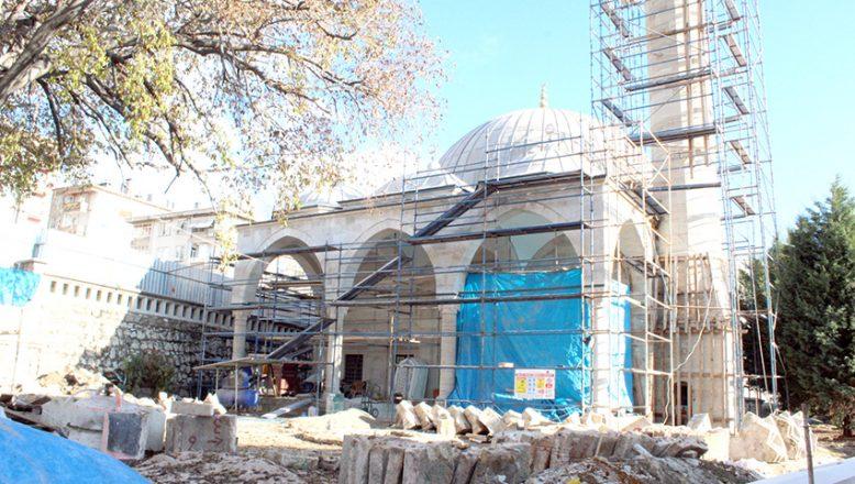 Sinan'ın eserinde restorasyon sürüyor