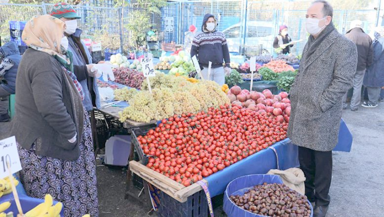 Sebze pazarı Cuma günü kurulacak