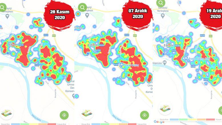 Risk haritası yeşile dönüyor