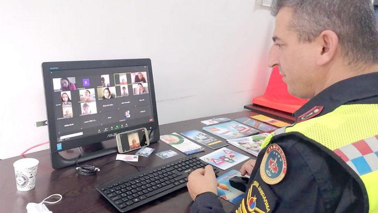 Jandarma'dan online trafik eğitimi
