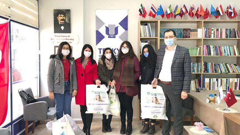 Yabancı öğrencilere yeni yıl desteği