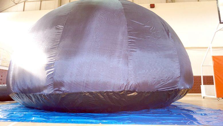 Uzay çadırı kuruldu