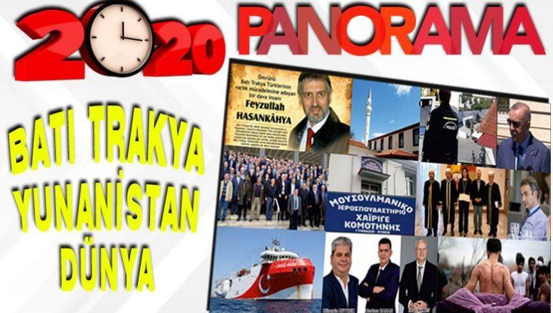 2020 yılında Batı Trakya, Yunanistan ve dünyada neler yaşandı?