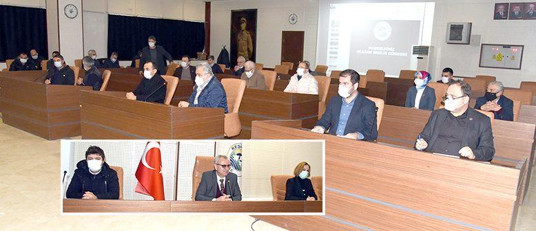 Yılın son toplantısı gerçekleştirildi