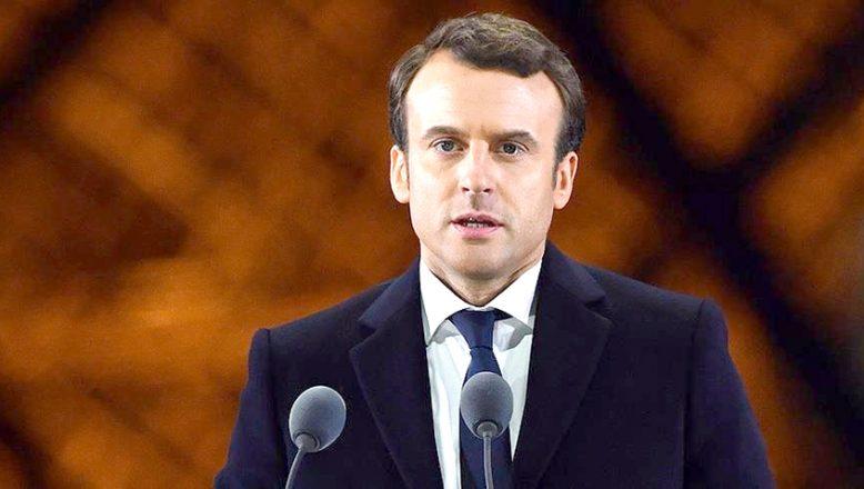 Macron, Kovid-19'a yakalandı