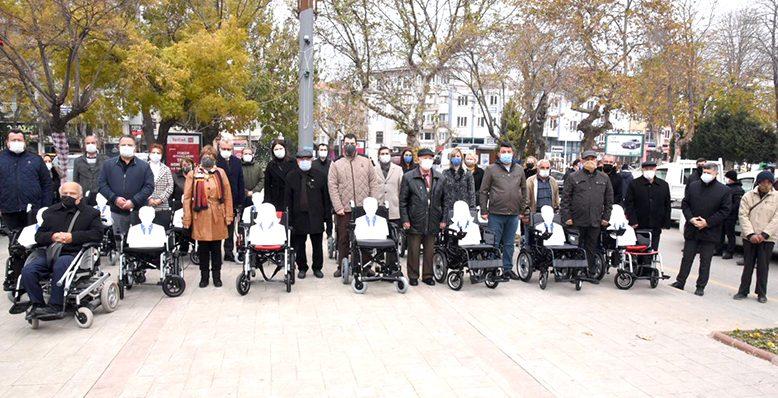 Akülü sandalyeleri, engelli vatandaşlara ulaştırdı
