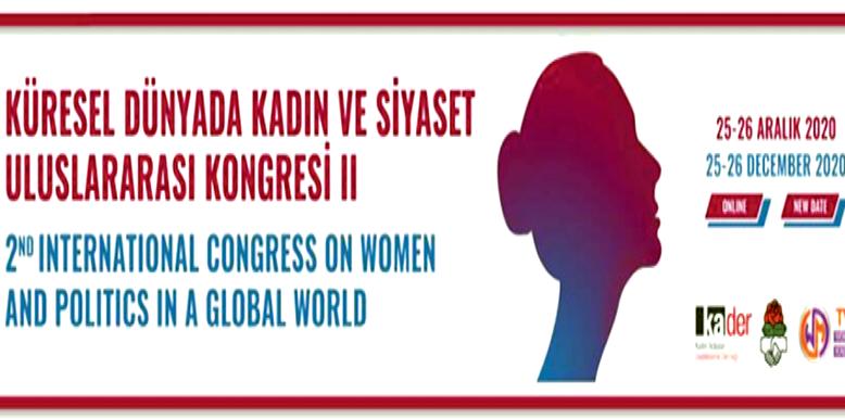 Uluslararası İlk Çevrimiçi Kadın Kongresi gerçekleştirilecek
