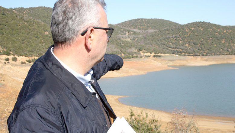 Kadıköy Barajı dibi gördü
