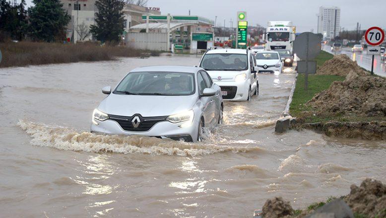 Edirne'nin güneyine kuvvetli yağış uyarısı