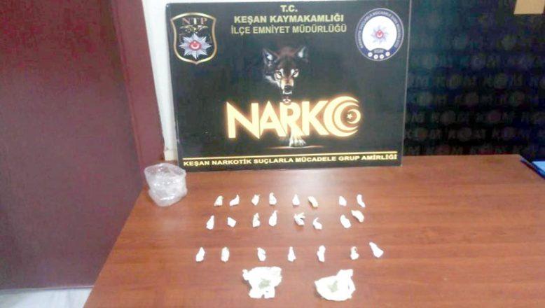 Uyuşturucu operasyonunda 5 gözaltı