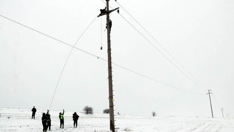 Enerji Timleri'nin zorlu kış mesaisi