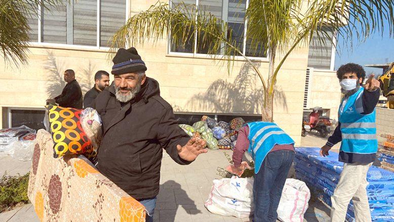 Lübnan'daki Suriyeli mültecilere yardım eli
