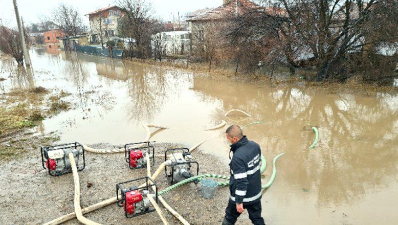 Sağanak yağışların ardından, Bulgaristan'daki durum