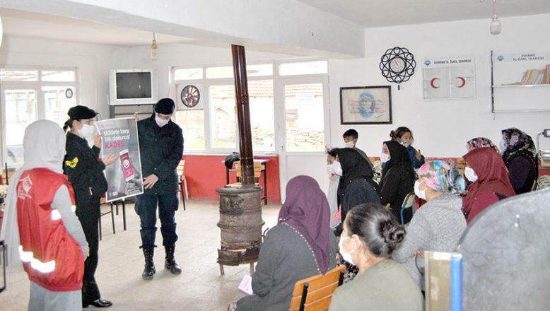 Jandarma köylerde KADES'i anlattı