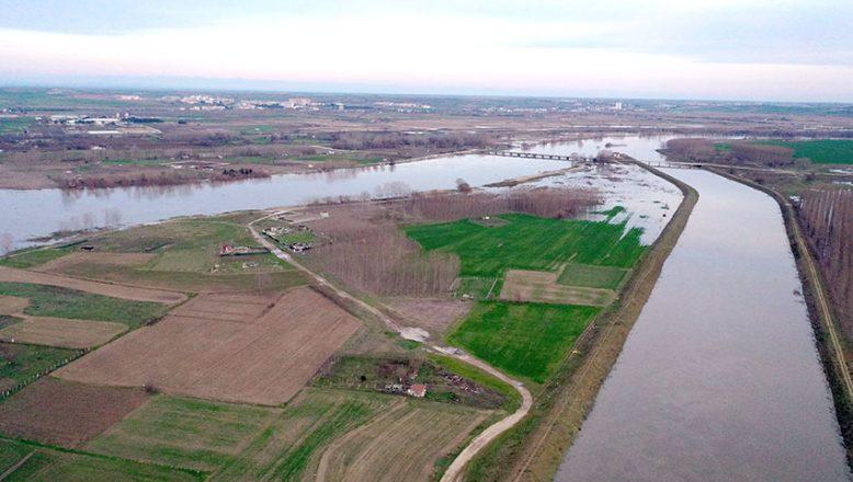 """""""Kanal Edirne"""" olası taşkını önledi"""