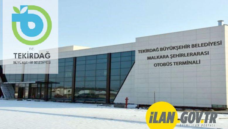 Malkara Otogarı'ndaki 11 adet işyeri kiraya verilecek