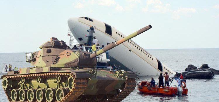 Bu kez tank batırılacak