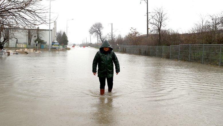 Trakya için kuvvetli yağış uyarısı