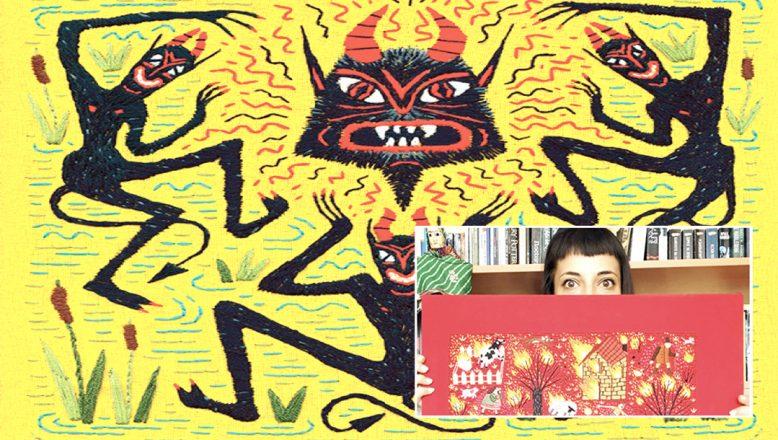 Kalina Muhova ve Bulgaristan'daki ilk işlemeli kitap