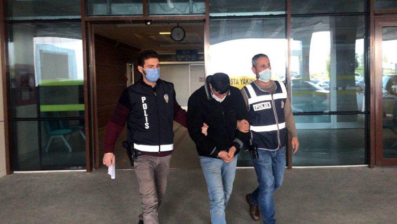Taksicinin yakalattığı hırsızlık zanlısı tutuklandı