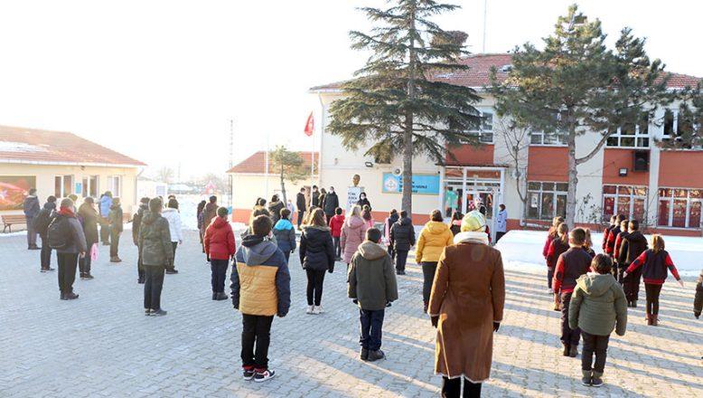 Edirne'de yüz yüz eğitim başladı