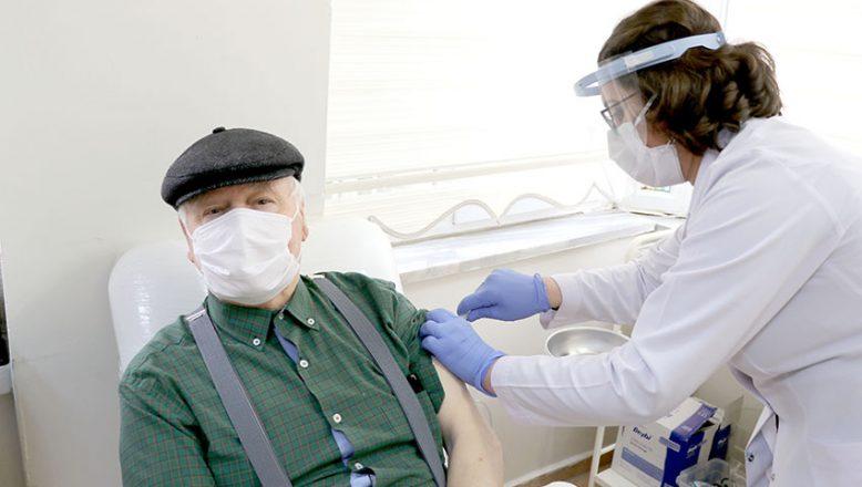 85 yaş ve üzerine 2. doz aşı