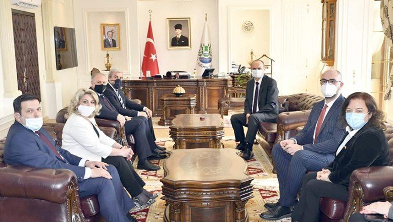 KDTP Genel Başkanı Vali Canalp'i ziyaret
