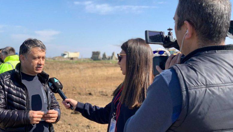 KGK, yabancı gazetecilerle Karabağ'da