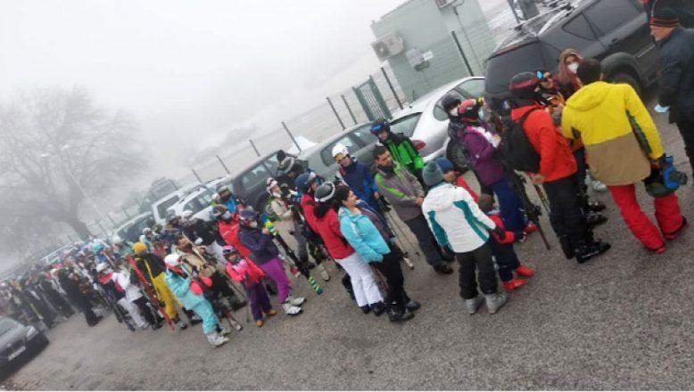 Bansko kayak merkezi turistlerle doldu