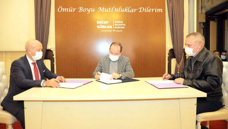 Belediye Toplu Sözleşme imzaladı