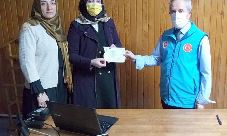Din görevlilerinden İdlib'e yardım