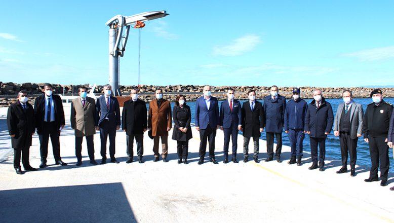 Enez Limanı'na gümrük kuruluyor