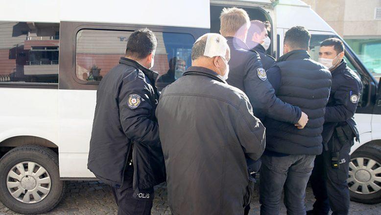 Kavgaya karışan 11 kişi gözaltına alındı