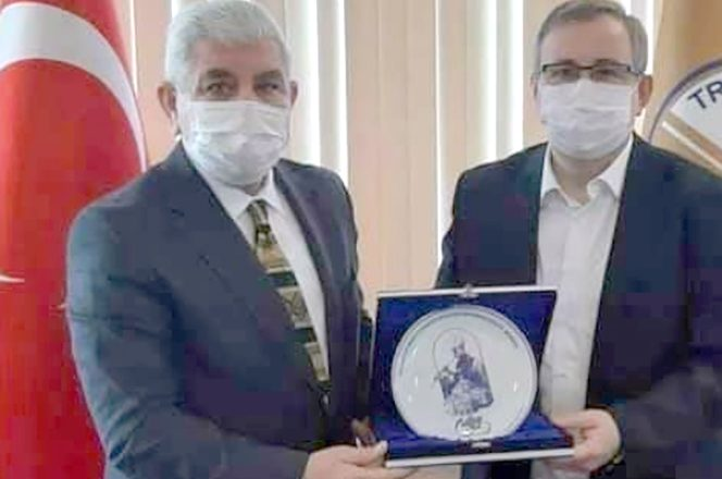 MHP'den Rektör Tabakoğlu'na ziyaret