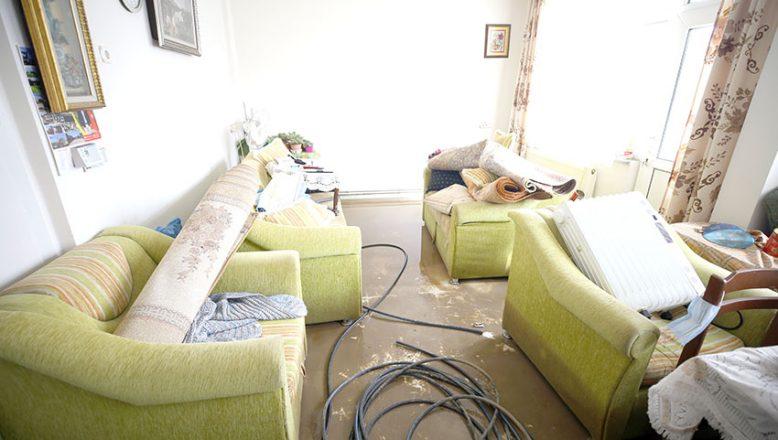 Taşkının ardından hasar tespit çalışmaları başlatıldı